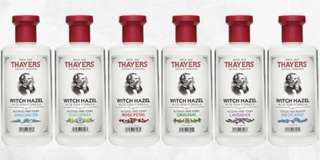 Thayers Witch Hazel Toner (Preorder)