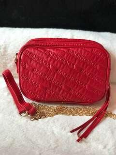 Balenciaga Sling Bag Red