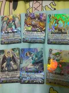 Cardfight vanguard foils