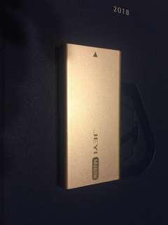Samsung Msata 256GB SSD with USB 3.0 casing