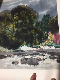 Chinese painting 吴冠中