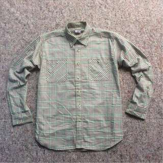 COLUMBIA TITANIUM LONG SHIRT ORIGINAL CHAMBRAY GREEN