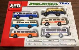 Tomica Tomy 旅遊巴士 套裝 全新