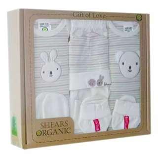 [BNIB] SHEARS Organic Baby Gift Set 6PC