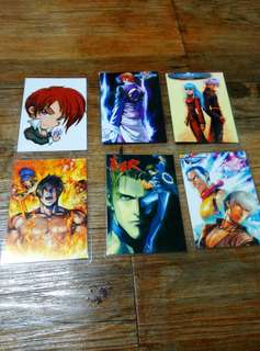 King of Fighters Laminated Card Set 3