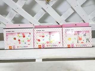 🚚 🔥熱銷 韓國有機棉精緻盒裝兩件兒童內褲 女童