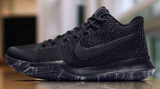 Kyrie 3 Black Marble Size 8 Nike