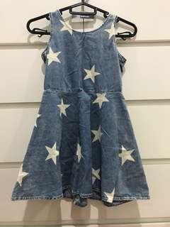Star Denim Dress #nogstday