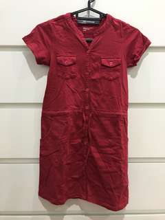 Red Casual Dress #nogstday
