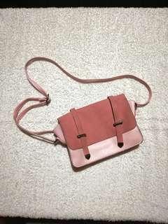 Cute Pink Sling Bag