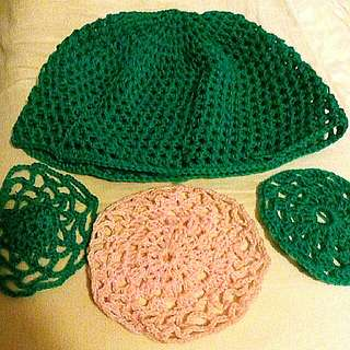 Crochet Coasters & Hat (all for $4)