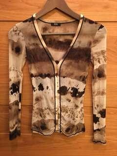 🚚 Boss 黑標Hugo Boss) mesh top 精品上衣