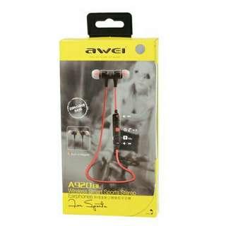 Awei a920bi 運動入耳藍牙耳機