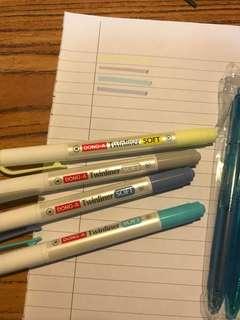 螢光筆原子筆