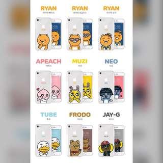 Kakao friends phone case