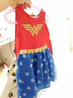 H&M Sweden Wonder women costume for age 4-6