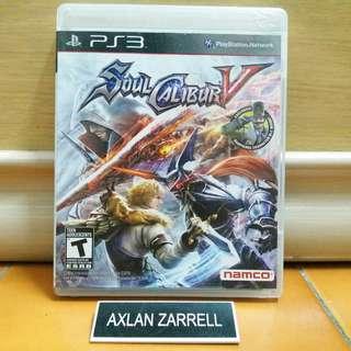 Playstation 3 Games : PS3 Soul Calibur V