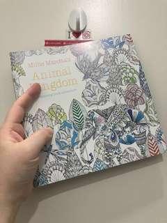 🆕 Animal Kingdom Coloring Book