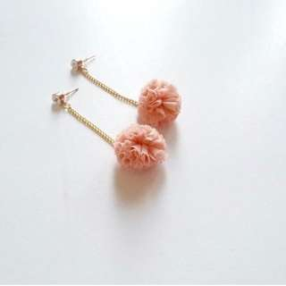 Anting fashion-POM (peach)