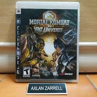 Playstation 3 Games : PS3 Mortal Kombat VS DC Universe