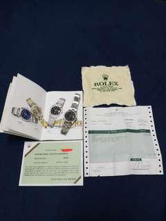 Original Rolex DATE 15210 Vintage classic.