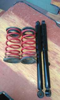 myvi rear absorber with spring
