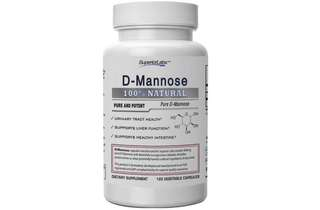 [IN-STOCK] Superior Labs – Best D-Mannose NonGMO Additive Free Dietary Supplement – 500mg, 120 Vegetable Capsules – Powerful Prebiotic – Boosts Urinary Tract Health – Supports Digestive Health & Liver Function