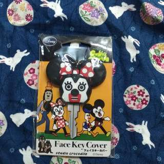 Minnie Mouse Key Chain Cubic Mouth 低燃廢少女