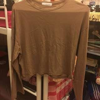 🚚 Lulus咖啡色寬袖上衣