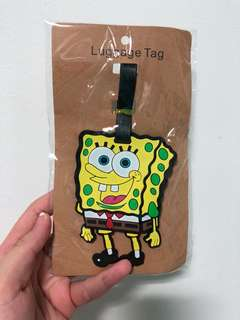 Luggage Tag - Spongebob Squarepants