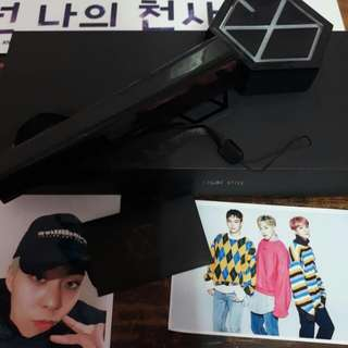 (Currently out of stock) EXO Black Ver 1 Dome Lightstick
