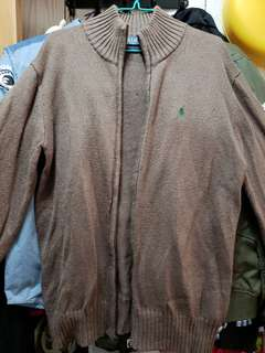 100%全新原裝正貨Polo啡色針織外套