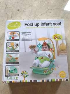 BRAND NEW Fold up Infant Seat - Mastela