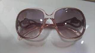 愛心鑲鑽 太陽眼鏡 墨鏡