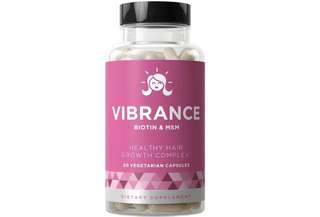 [IN-STOCK] Eu Natural VIBRANCE Hair Growth Vitamins - Grow Strong Hair Faster, Improve Thickness, Stimulate Length, Fight Thinning Hair - Biotin & OptiMSM - For All Hair Types - 60 Vegetarian Soft Capsules