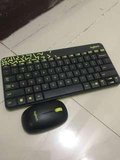 logitech wireless keyboard + mouse