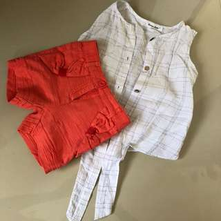 Preloved toddler set