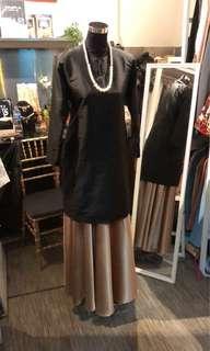 Kurung & flair skirt