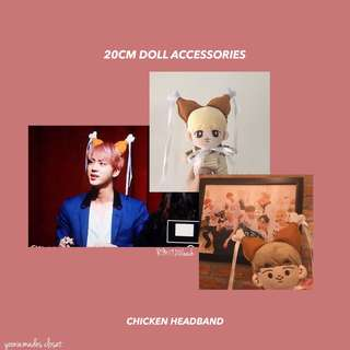 BTS EXO 20CM Doll Accessories