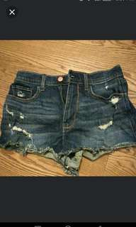 Hollister highrise vintage shorts