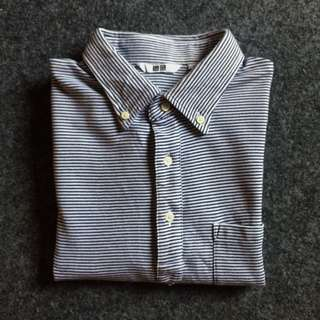 Uniqlo stripes polo