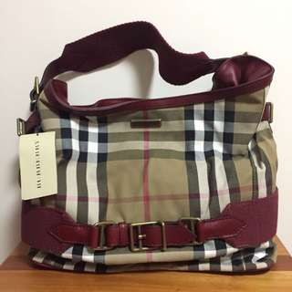 Brand New 100% Authentic Burberry Hobo Bag