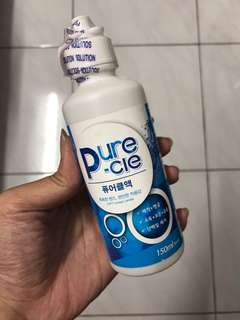 Korean Contact Lenses Solution