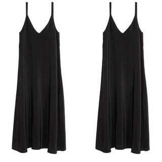 Slip Dress Black Trick & Tricky