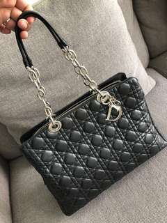Authentic Christian Dior Quilted Tote