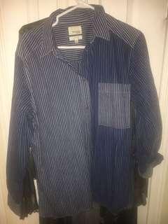 Wilfred free denim shirt