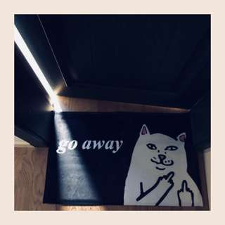 BTS Genius Lab Suga GoAway Cat Doormat