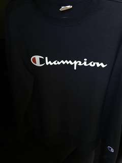 Champion crewneck navy