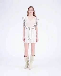 IRO Rope belt dress