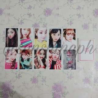 Twice - Signal Album POB Photocard Set